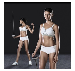 Sutien Firm Support - Xcontrol Sports Bra White Metallo