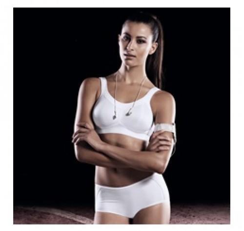 Sutien Sport Momentum - Alb