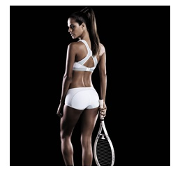 Sutien Sport X-Back DynamiX Star White Metallic